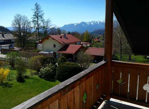 2-Zimmer-DG-Wohnung mit Balkon, EBK in Bad Tölz