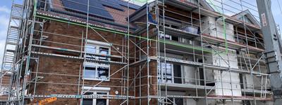Wunderschöne Dachgeschosswohnung, 3ZKB Neubau