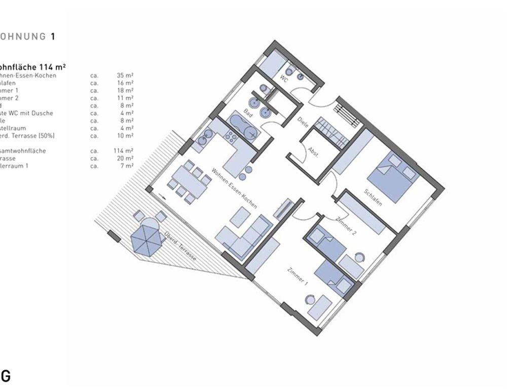 Awesome Wohnung 1 HO