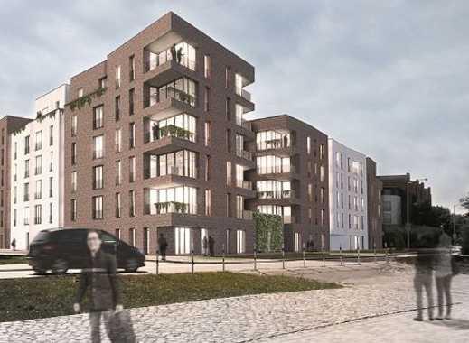 3-Zimmer-Wohnung mit großzügiger, sonniger Terrasse - Bauprojekt HanseHof