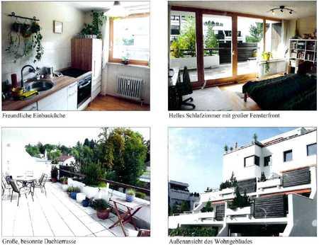 Modernisierte Terrassenwohnung mit zweieinhalb Zimmern sowie Balkon und Einbauküche in Landshut in Berg (Landshut)