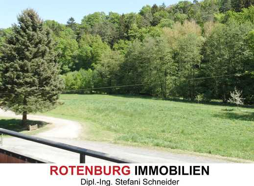 4-Zimmer-Wohnung mit Balkon und Blick ins Grüne in RoF-Mündershausen