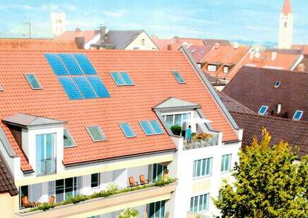 Ab Aug/Sept im Stadtzentrum Moosburg : TOP Vier-Zimmer-Wohnung mit exklusiver Balkonterrasse in Moosburg an der Isar