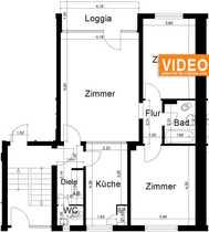 gemütliche 3 Zimmer-Wohnung