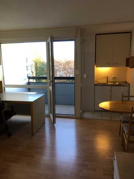 Gepflegtes 1-Zimmer-Appartement am Wöhrder See, möbliert, neues Bad, in Tullnau (Nürnberg)