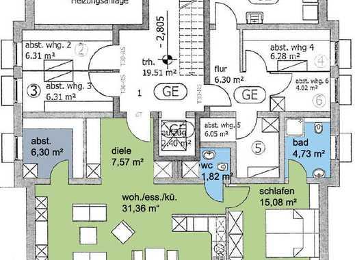 6 projektierte Neubauwohnungen - nur noch 1 Traumwohnung frei! -