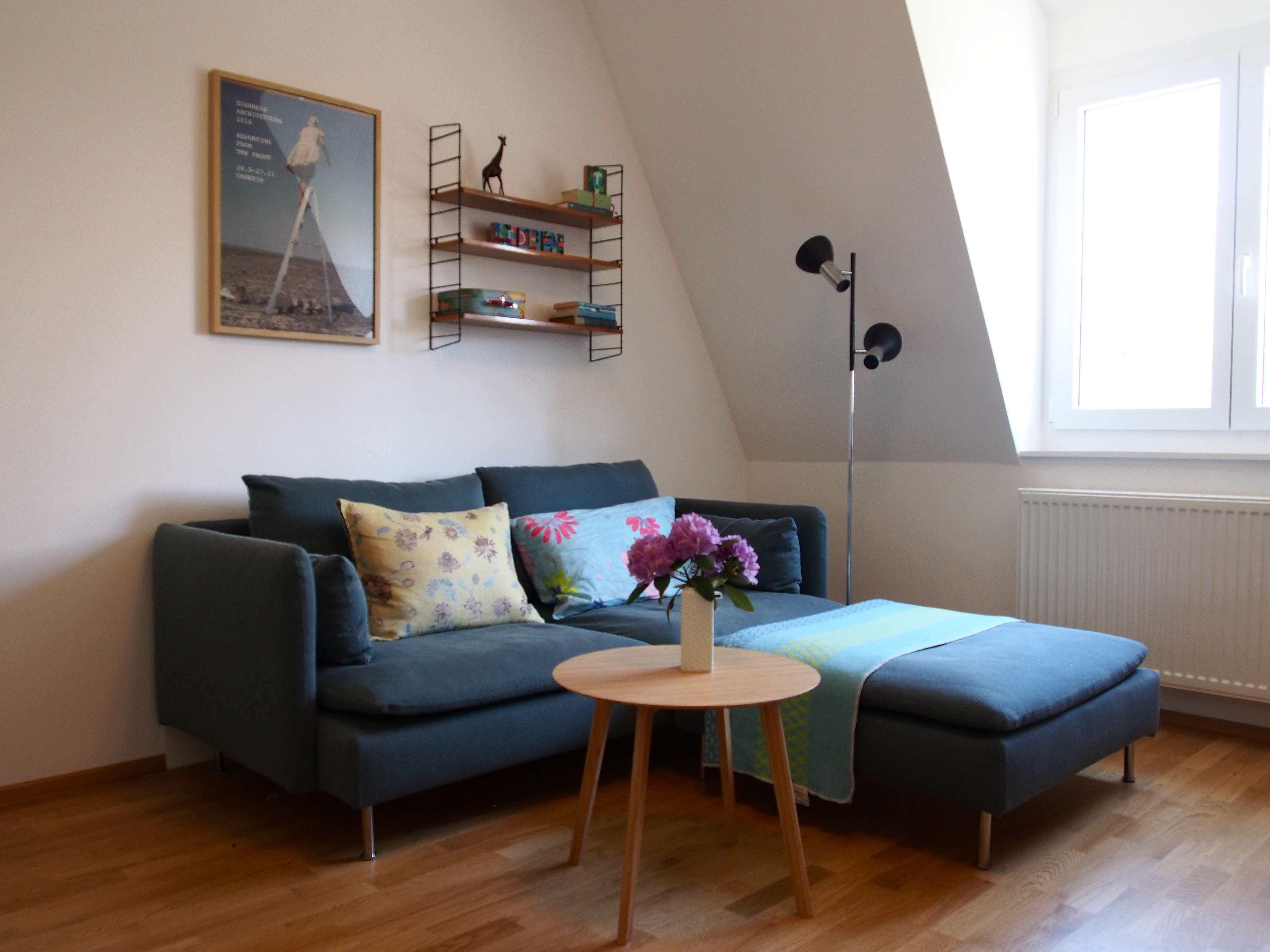 Stilvolle 2-Zimmer Wohnung in Nürnberg, möbliert in