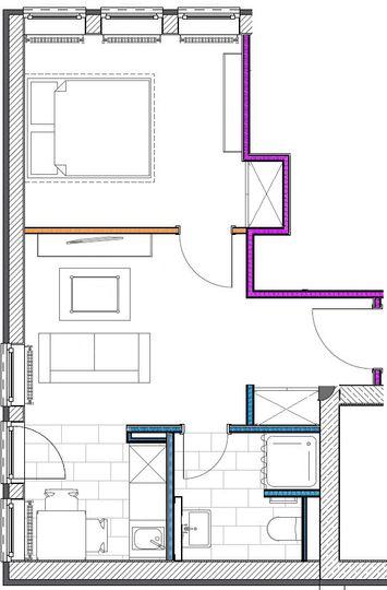 Grundriss Typ Penthouse 501