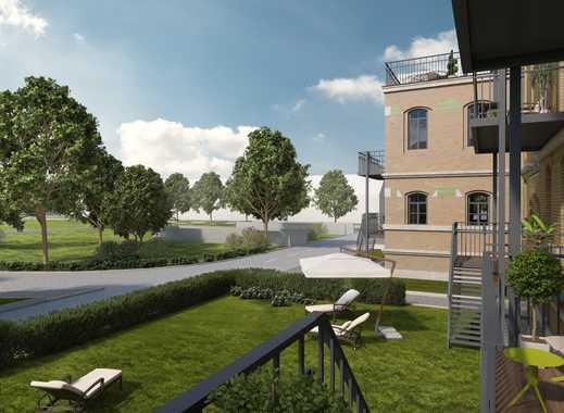 TOP ZWEITBEZUG in der König-Albert-Residenz! Fußbodenheizung, Balkon und eigener Gartenanteil
