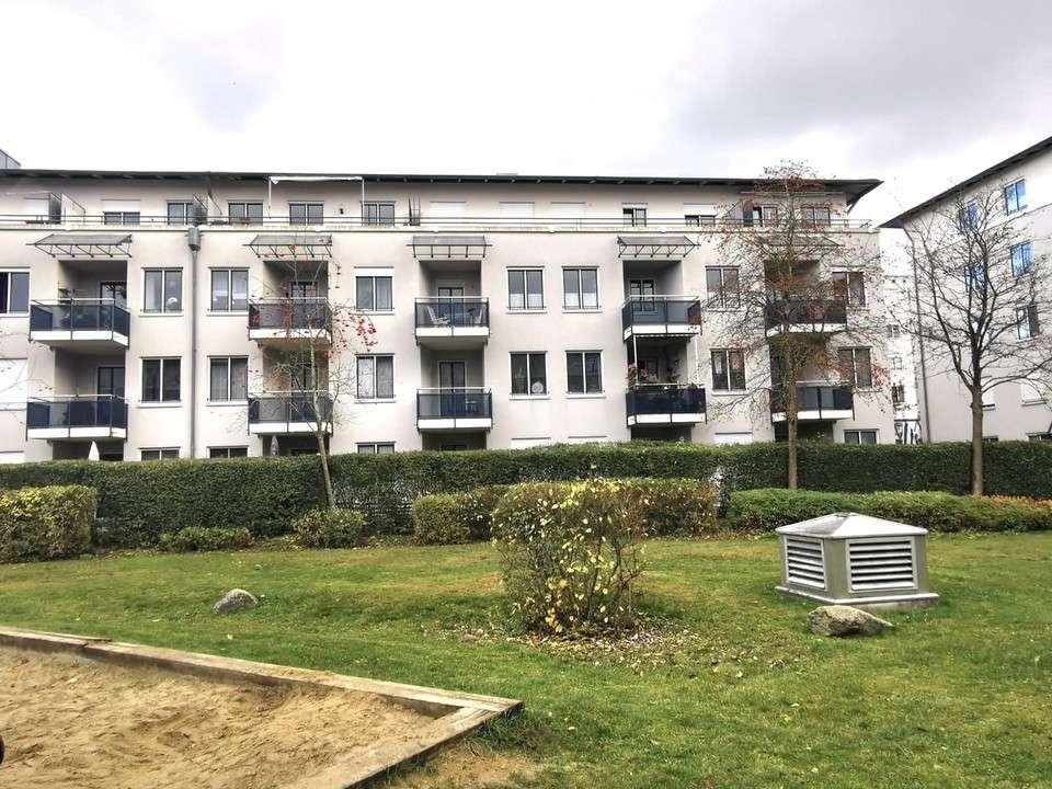 Haunstetten- 3 ZKB, 77qm, Bj 1992, EBK, Balkon, Lift, Garage! in