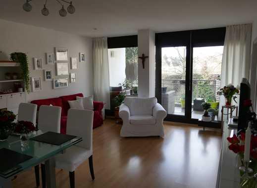 Helle 2-Zimmer Single-Wohnung mit Gartenblick in Mönchengladbach