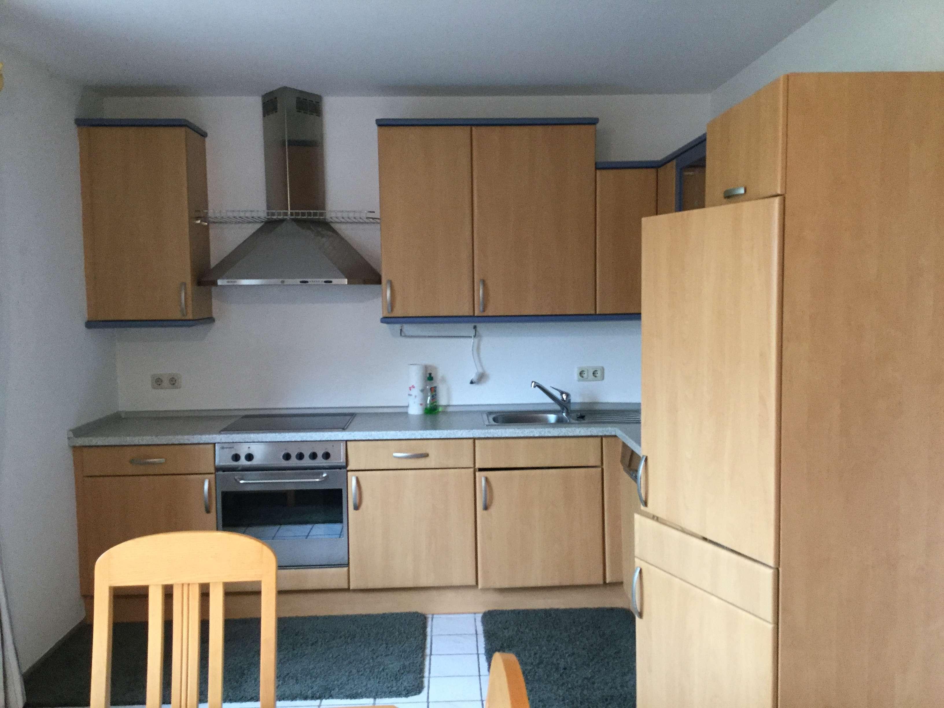 Neuwertige 2-Zimmer-Hochparterre-Wohnung mit Balkon und EBK in Schwandorf (Kreis) in Schwandorf
