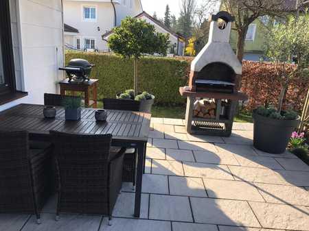 Sonnige, großzügige Terrassenwohnung mit Gartenanteil in Olching