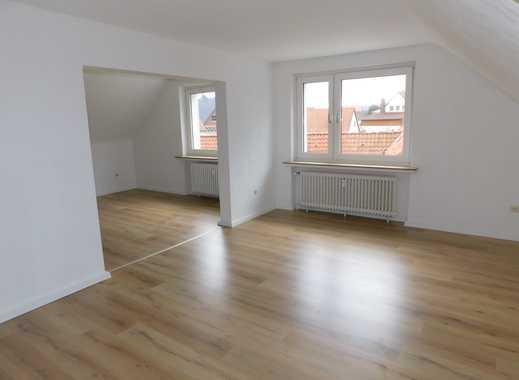 Ansprechende, vollständig renovierte 3,5-Zimmer-Dachgeschosswohnung zur Miete in Hildesheim