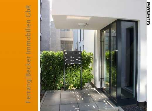 Hochwertige 3-Zimmer-Naubauwohnung mit Sonnenbalkon - Rheinlage