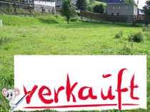 VERKAUFT 600 m² sonniges Bauland