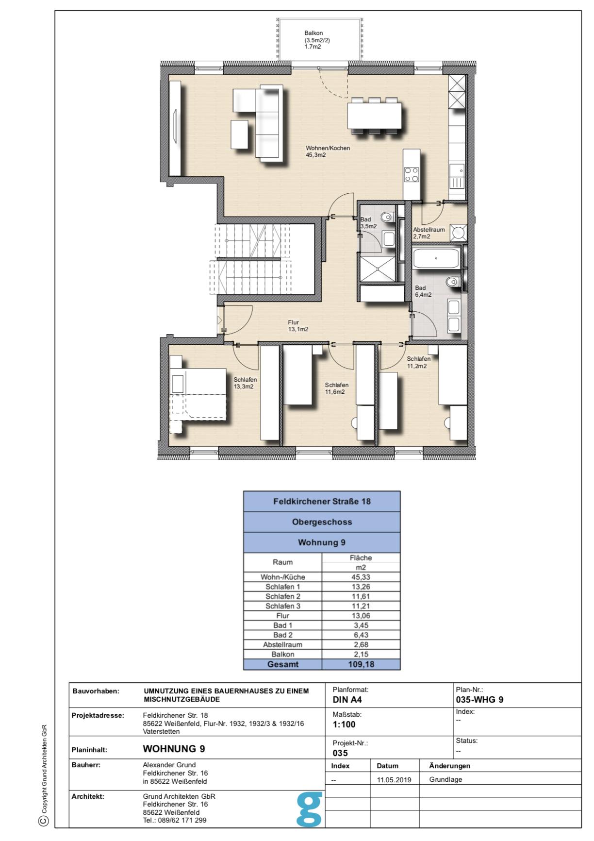 Attraktive 4-Zimmer-Wohnung mit hochwertiger Ausstattung