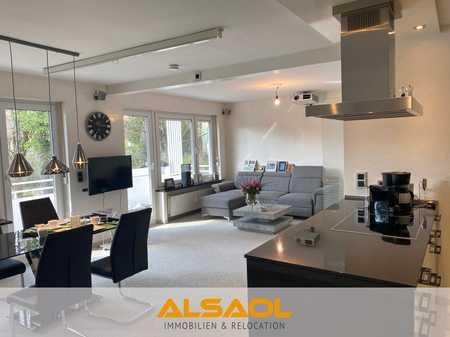 ALSAOL Immobilien: hochwertige, möblierte 2-Zimmerwohnung mit Südwestbalkon in Obermenzing! in Obermenzing (München)