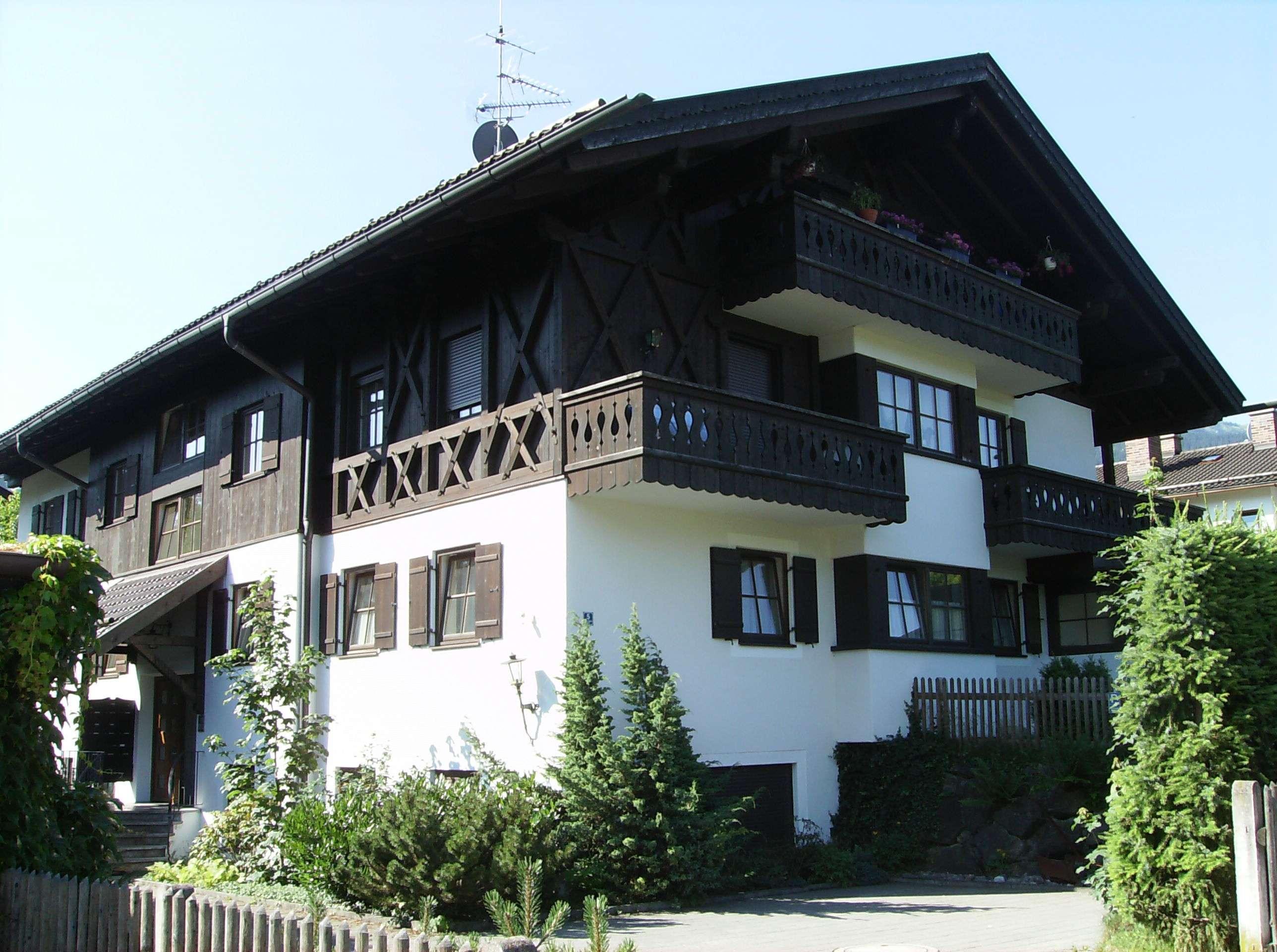 Großzügige DG-Wohnung mit besonderer Architektur und Grundriss im OT Partenkirchen