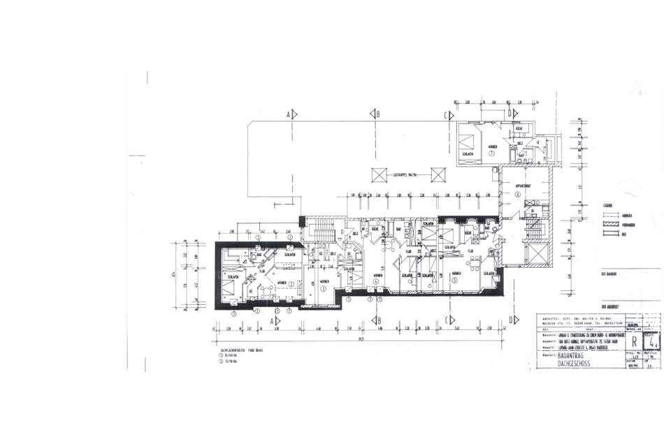 Dachgeschoss Bauantrag