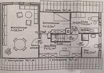 zentral gelegene 3-Raum Wohnung im