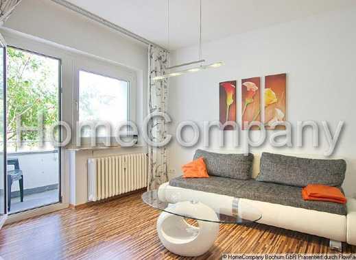 Schick, modern, komplett eingerichtet, mit Balkon und bester Anbindung in die umliegenden Städte ...