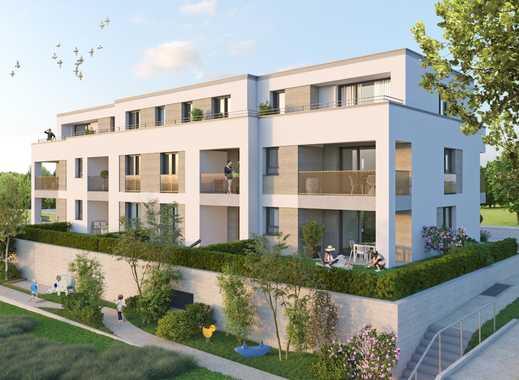 Kompakte 2-Zimmerwohnung mit Gartenanteil!