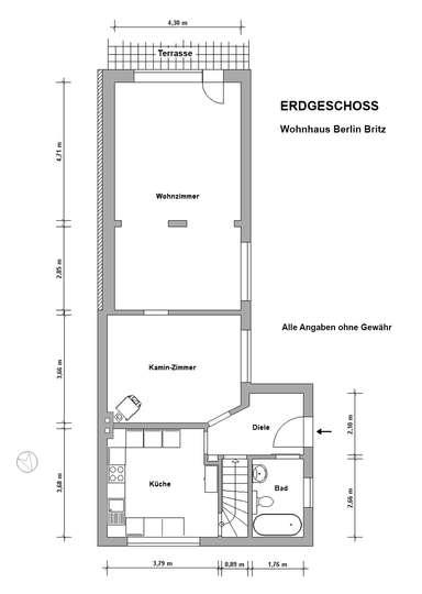 Gemütliches Siedlungshaus in Berlin-Britz, nahe dem Britzer Garten - Bild 25