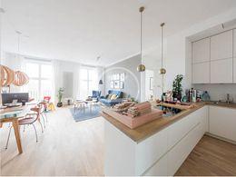 Musterwohnung - offene Küche