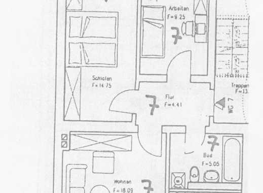 Modernisierte 3-Zimmer-Wohnung mit Balkon in Halle (Saale)