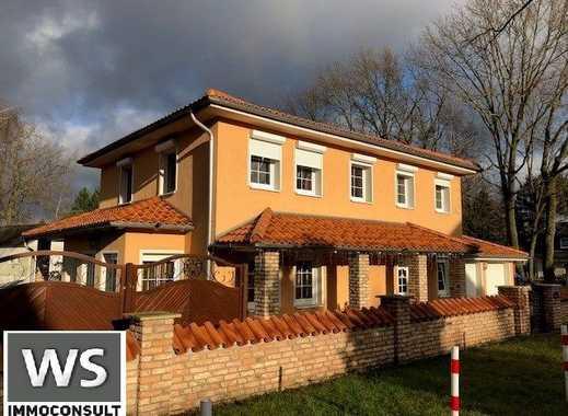 Auf Zeit: Mediterrane Villa auf über 275 m², modern, EBK, Fußbodenh., Klima, Keller, Garage, Garten!