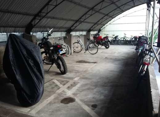 !!!Überdachte Motorradstellplätze in D´dorf-Unterbilk in Hafennähe zu vermieten!!!