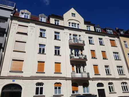 Sanierte und möblierte 2 Zimmer-Wohnung mit Balkon ab sofort zu vermieten! in Neuhausen (München)