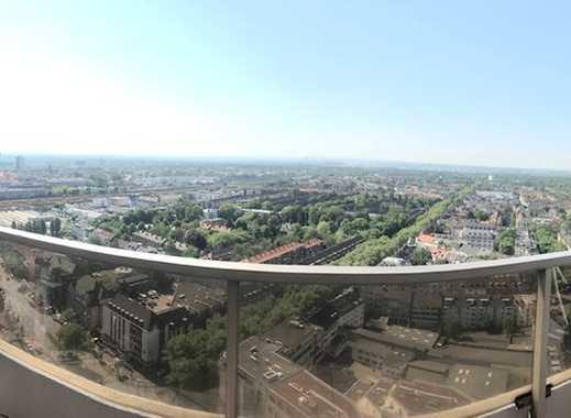 Neuwertige 2,5-Zimmer-Wohnung mit Panorama Balkon und Einbauküche in Sülz, Köln