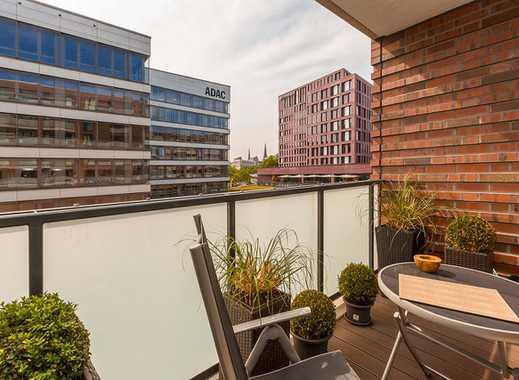 Loftartige Luxus Wohnung/möbliert/ Tiefgaragenstellplatz / 2 Bäder/ Wasserblick /