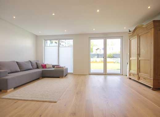 Sehr attraktive Neubau-Doppelhaushälfte mit Garten, Balkon, Garage und Teilmöblierung für 2 Jahre