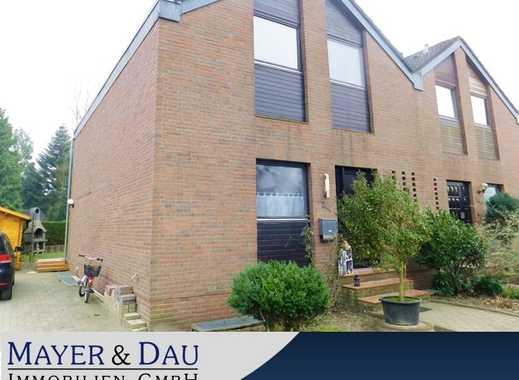 Oldenburg: Solide Doppelhaushälfte mit Vollkeller in Bümmerstede, Obj. 4635