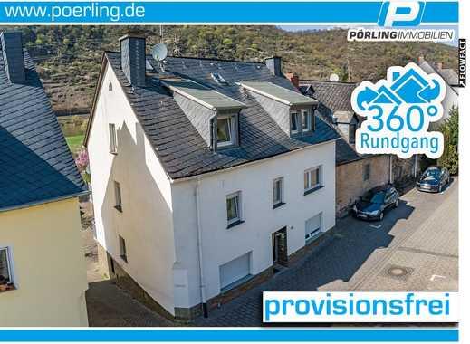 Vermietetes 4-Familienhaus an der Mosel - 3 Wohnungen + 1 Anbau mit Garage - PROVISIONSFREI