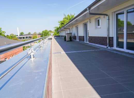 Penthouse: große 2,5-Zimmer-Wohnung mit Fahrstuhl und riesiger Süd-West-Dachterrasse