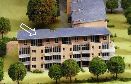 Penthouse Dachterrassenwohnung, Westseite, Bestlage Ortszentrum, sehr ruhig in Unterhaching
