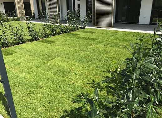 Sonne pur im Gartentraum! NB, großzüg. 2,5-ZiWhg Westausrichtung, TG-Stellplatz, Einbauküche, HWR