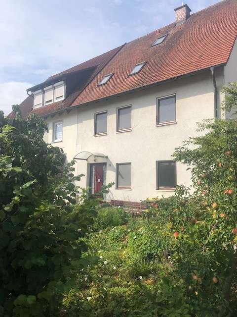 Gepflegte 2-Zimmer-EG-Wohnung mit West-Terrasse in Mering St.Afra in
