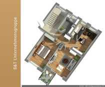 3-Zimmerwohnung - Zentral - als WG geeignet