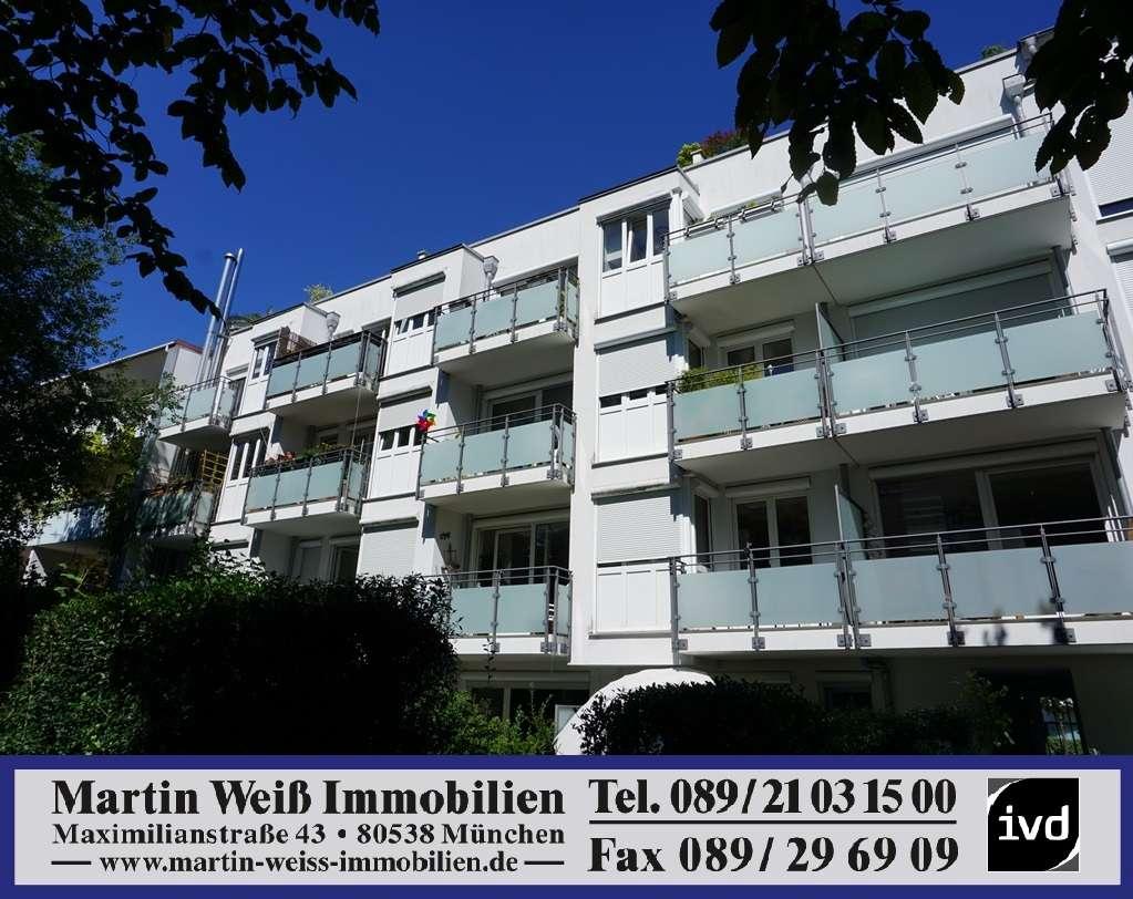 Moderne und familiengerechte 4-Zimmer-Wohnung mit Süd-Dachterrasse in Schwabing Nähe Luitpoldpark in Schwabing-West (München)