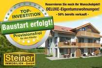 Bau-Start-ERFOLGT exk 2-3-Zimmer-Neubau-DG-Wohnung ca 69