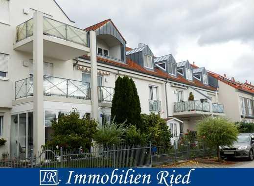 Gemütlich und ruhig Wohnen! 2-Zimmer-Dachgeschoß-Wohnung in Manching!