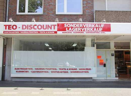 Gute Qualität, stark frequentierte Lage: Große Verkaufsfläche und große Lagerfläche zu kleinem Preis