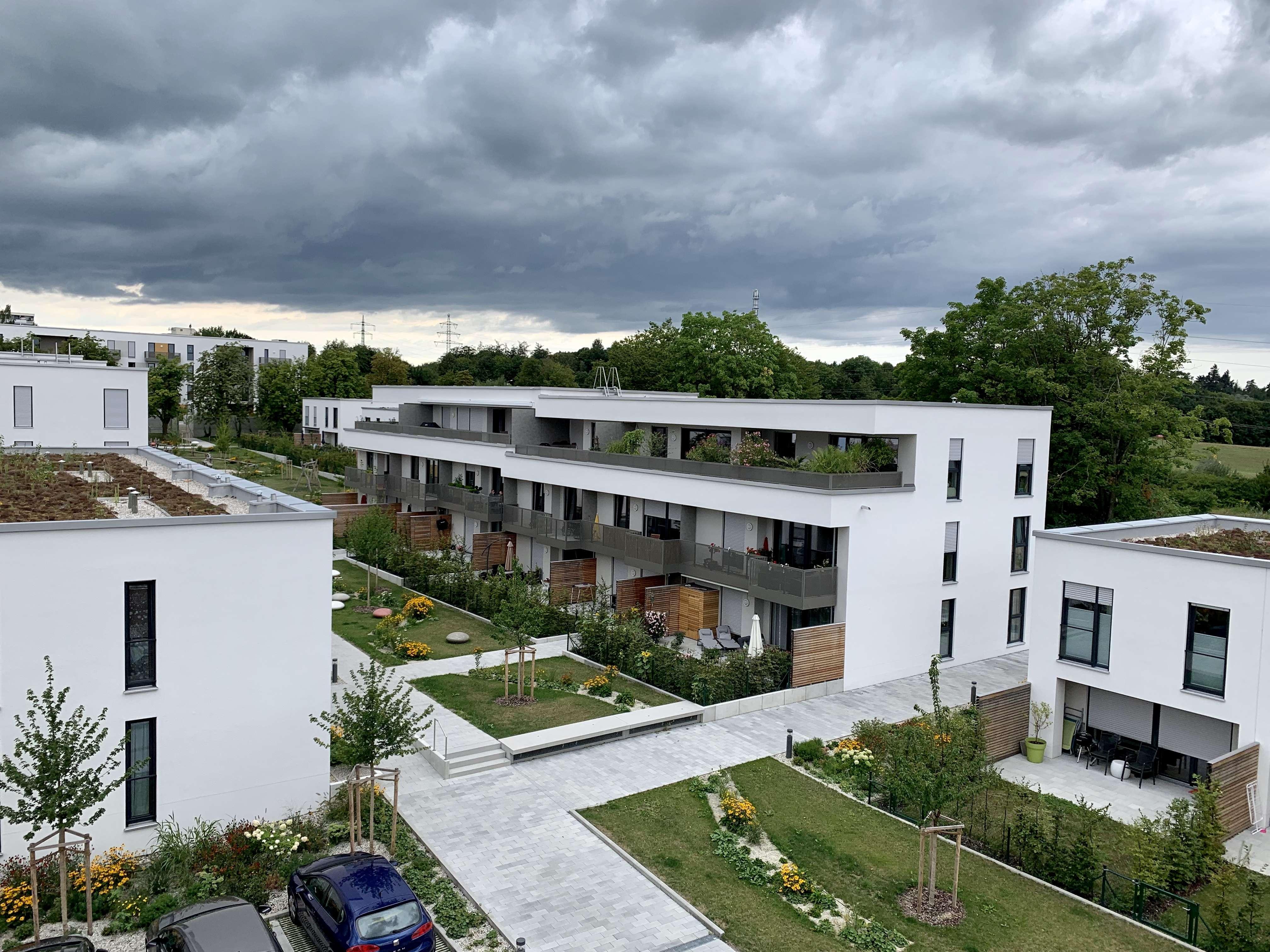 NEUBAU! Helle 3,5-Zimmer-Gartenwohnung mit Süd-Terrasse in Freising