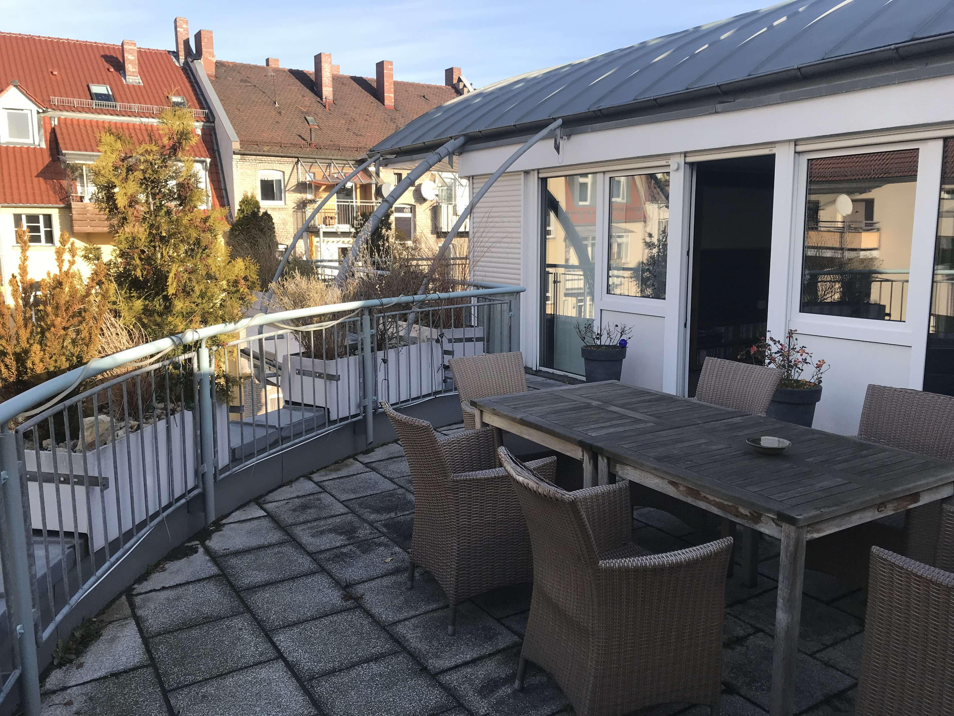 Traumhafte 3,5 Zi-Penthouse Whg in ruhiger Lage in N-Maxfeld in Maxfeld (Nürnberg)