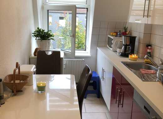 Wohnen auf dem Rott. Schöne, renovierte 3-Zimmer Maisonette-Wohnung
